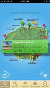 Kaua'i Beach Guide app