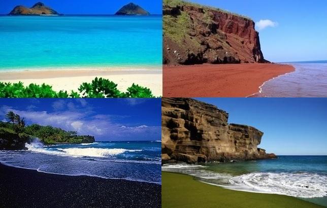 unlocking the mystery of hawaii s rainbow colored beaches hawaii