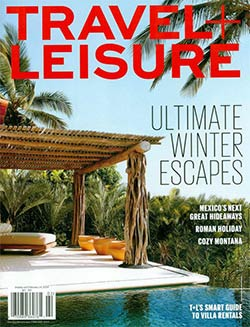 Cover of February 2014 Travel Leisure magazine
