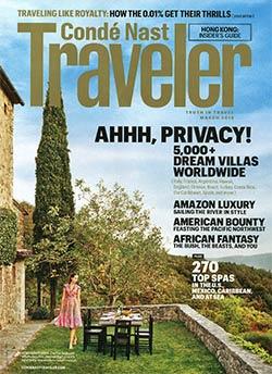 Cover of Conde Nast Traveler villa guide 2013
