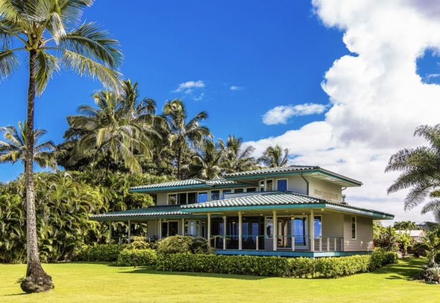 Earthly Delight - Exterior of Home - Kauai Vacation Home