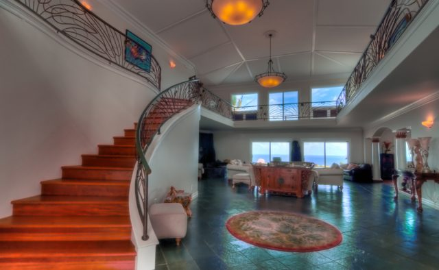 Kauai Serenity - Main Entrance stairs - Kauai Vacation Home