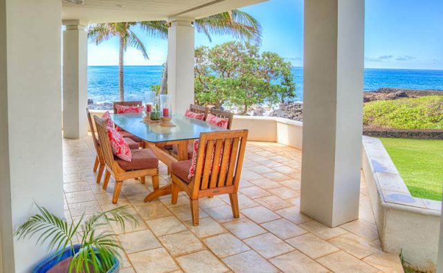 Tranquil Landing - Patio - Luxury Vacation Homes