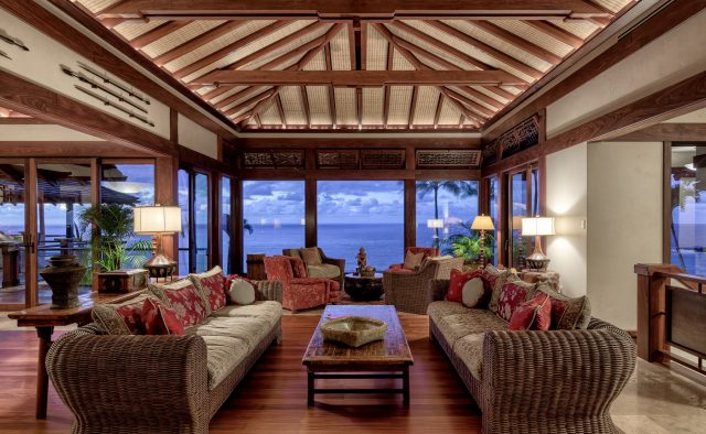 Millennial Sunrise - Living Area - Kauai Vacation Home
