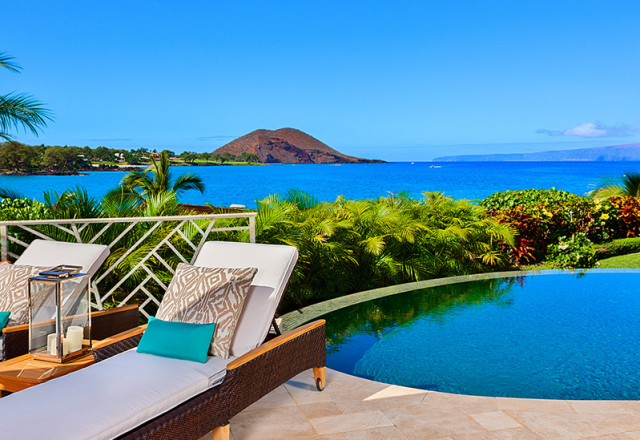 Coral Gardens - Pool and Lounge Chairs - Maui Vacation Home