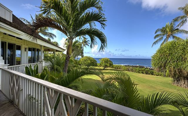 Mango Crush - Deck railing - Kauai Vacation Home