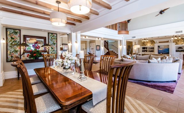 Golden Glow - Dining area and living area - Maui Vacation Home