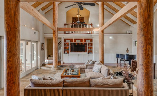 Pristine Manor Luxury Home Rental - Living Area - Hawaii Hideaways