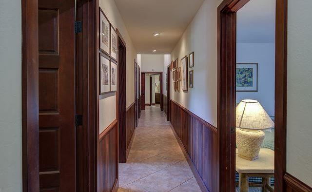 Mango Crush - Hallway - Kauai Vacation Home