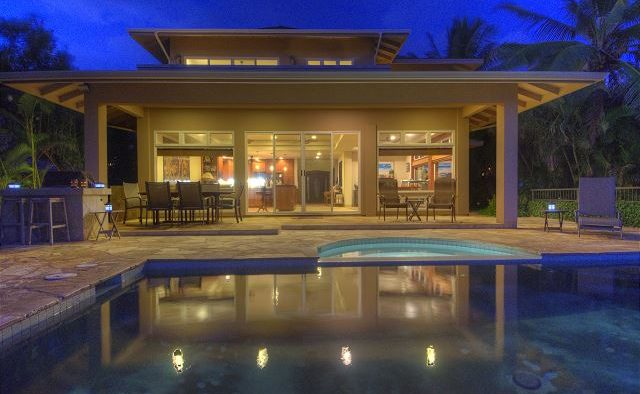 Breakwater - Rear view of the house - Poipu Kauai Vacation Home