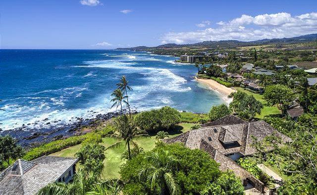 Mango Crush - Aerial View of home - Kauai Vacation Home
