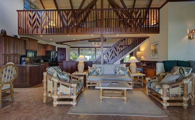 Mango Crush - Living area - Kauai Vacation Home