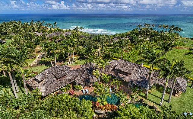 Enchanting Meadow - Aerial View of the home - Hawaii Vacation Home