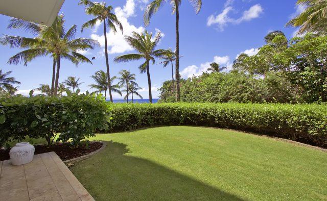 Aqua Surf at Montage - Backyard - Maui Vacation Home