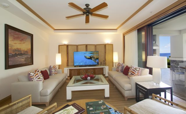 Aqua Surf at Montage - Living Area 2 - Maui Vacation Home