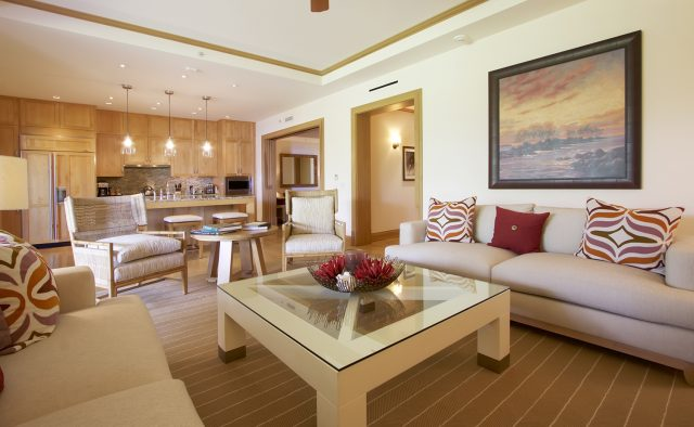 Aqua Surf at Montage - Living Area - Maui Vacation Home