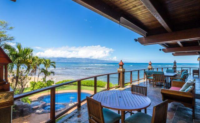 Bali Kaha - First story Patio view - Maui Vacation Home