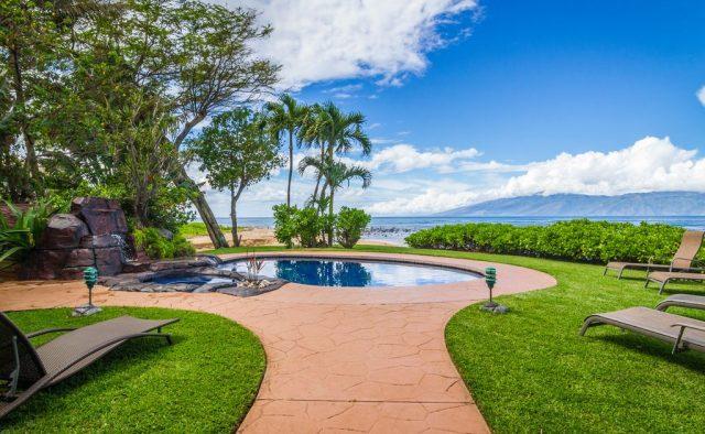 Bali Kaha - Walkway to the pool - Maui Vacation Home