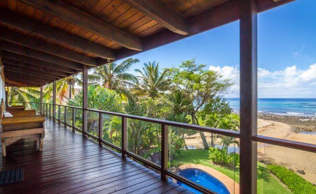 Bali Kaha - Back deck - Maui Vacation Home