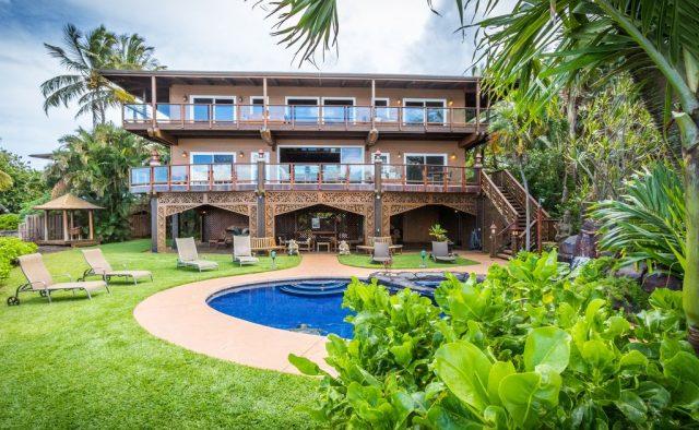 Bali Kaha - Rear view of the home - Maui Vacation Home