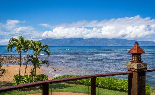 Bali Kaha - Back Patio view - Maui Vacation Home