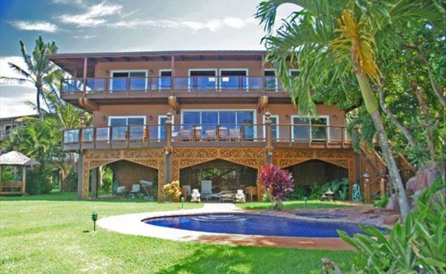 Bali Kaha - Rear View - Maui Vacation Home