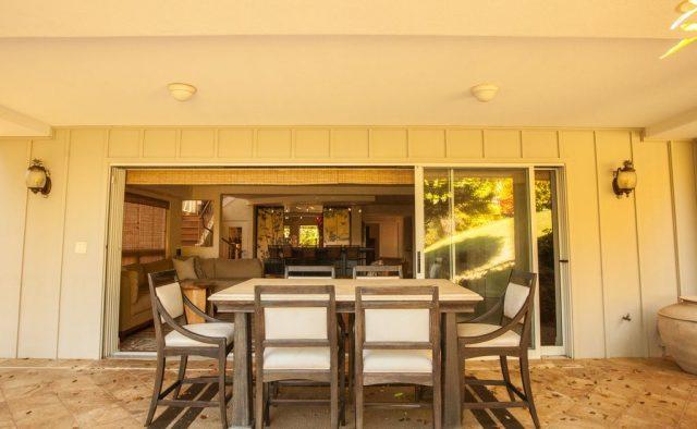 Bamboo Vista - Patio 2 - Maui Vacation Home