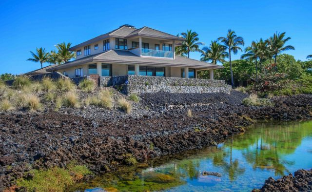 Beach Elegance - Rear view of home - Hawaii Vacation Home