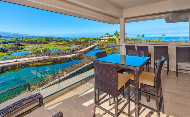 Beach Elegance - Second Story Patio - Hawaii Vacation Home
