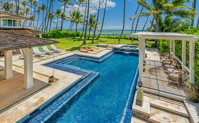 Coral Reef - Pool 2 - Oahu Vacation Home