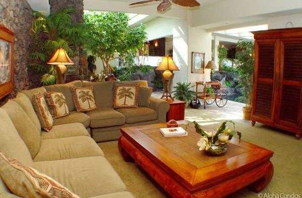 Dynamic Falls - Living area - Hawaii Vacation Home
