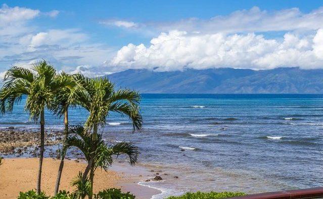 Bali Kaha - Patio View - Maui Vacation Home
