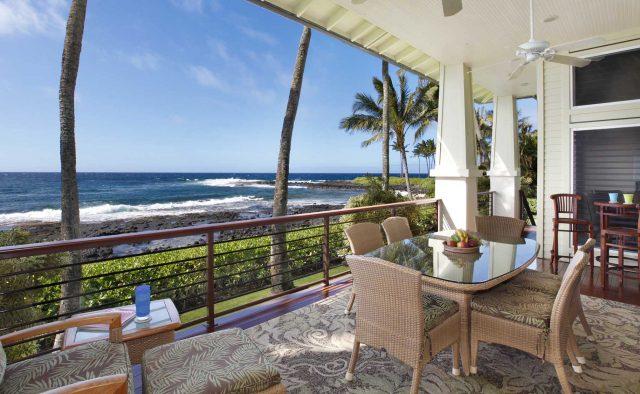Starlit Getaway - Patio - Hawaiian Luxury Vacation Home