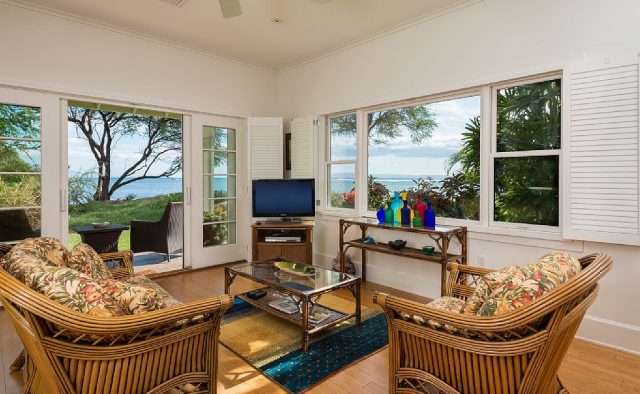 Hidden Tranquility - TV Room - Maui Vacation Home