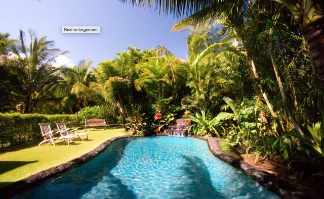 Beach Terrace - Pool in Backyard - Hawaii Vacation Home