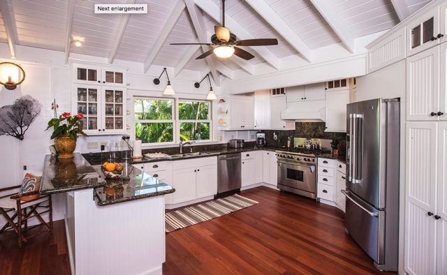 Beach Terrace - Kitchen - Hawaii Vacation Home