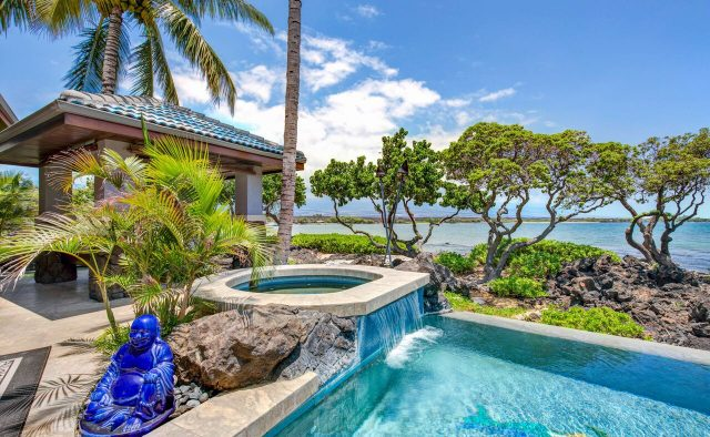 Cobalt Sky - Pool and hot tub - Hawaii Vacation Home