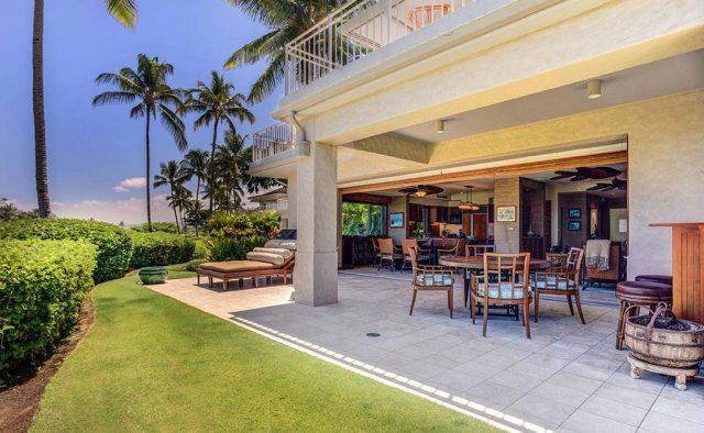 Hualalai Resort Hillside 4102 - Patio - Hawaii Vacation Home
