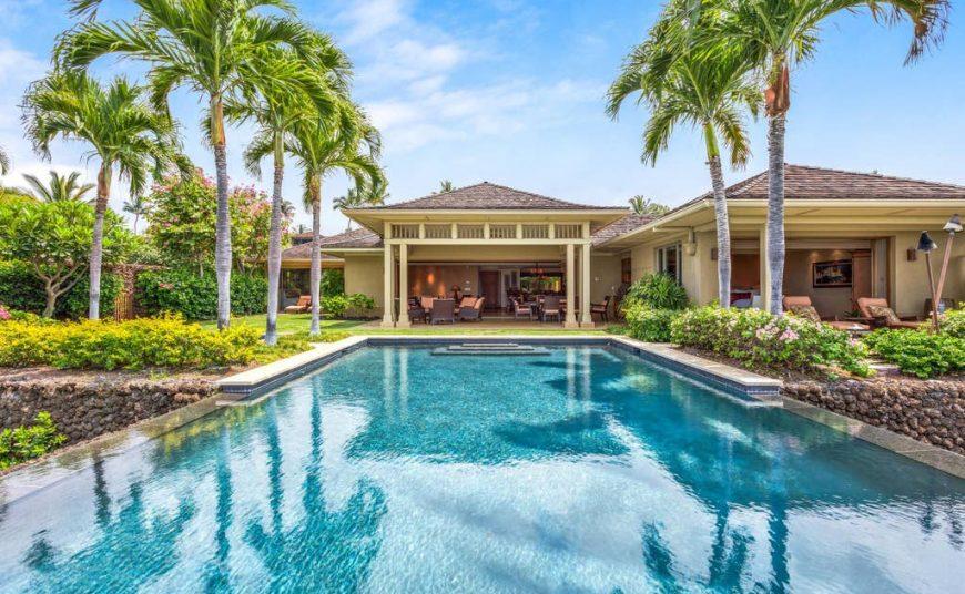 Hualalai Hainoa Estate 128 - Pool - Hawaii Vacation Home
