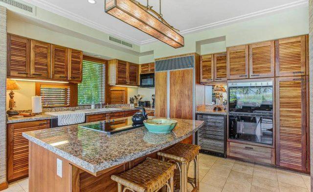 Hualalai Resort Hillside 4102 - Kitchen - Hawaii Vacation Home