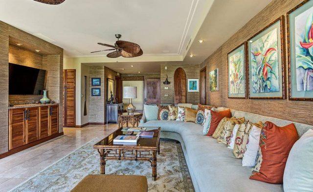 Hualalai Resort Hillside 4102 - TV Room - Hawaii Vacation Home