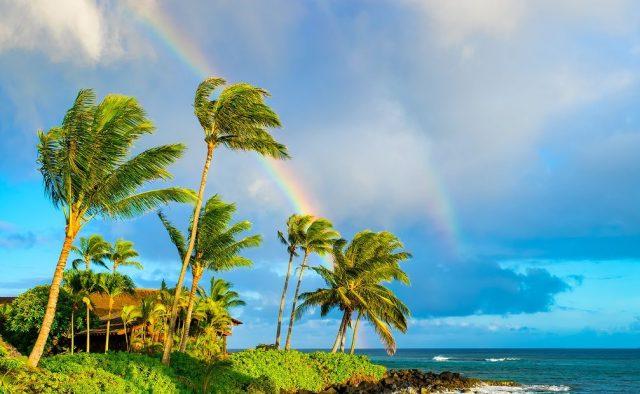 Island Flair - Ocean and rainbows - Kauai Vacation Home