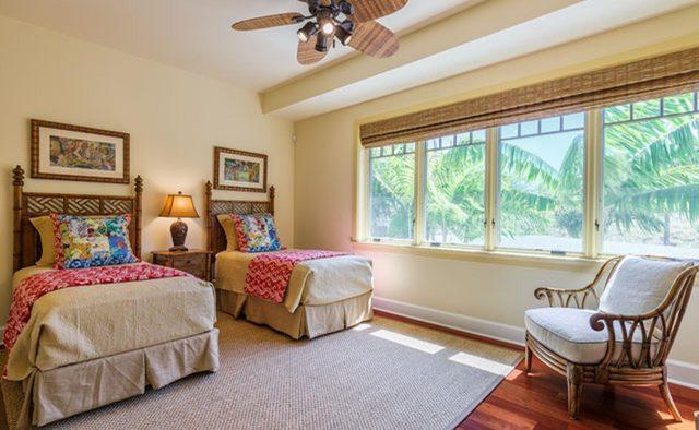 Clear Skies - Bedroom 4 - Hawaii Vacation Home