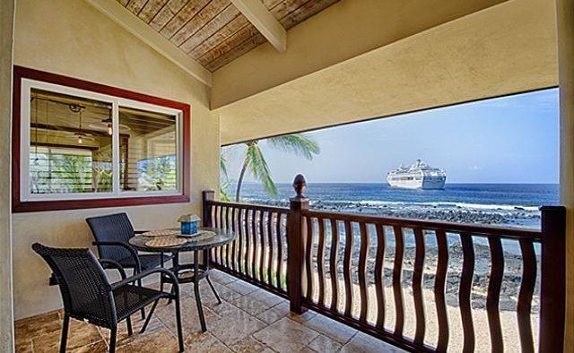 Kona Bay Estates Bliss - Balcony and seating - Hawaii Vacation Home