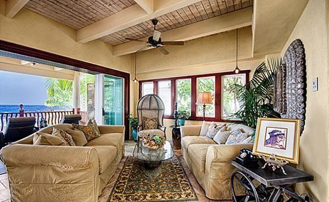 Kona Bay Estates Bliss - Living area - Hawaii Vacation Home