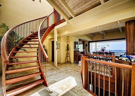Kona Bay Estates Bliss - Stairs - Hawaii Vacation Home