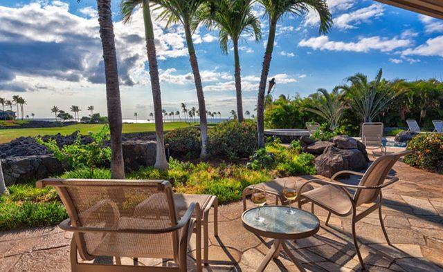 Cape Palm - Patio - Waimea, Hawaii Vacation Home