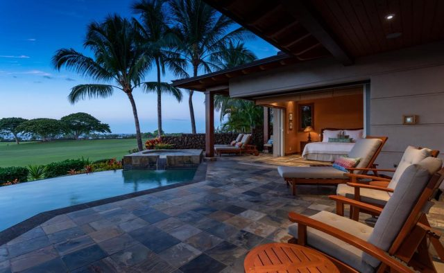 Maluhia Hale - Patio and seating - Hawaii Vacation Home