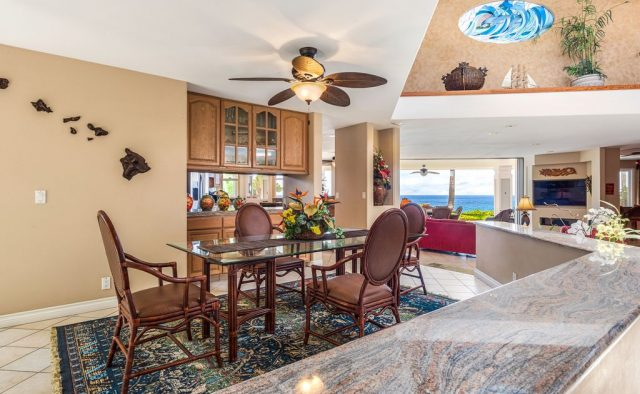 Opal Estates - Dining table - Hawaii Vacation Home