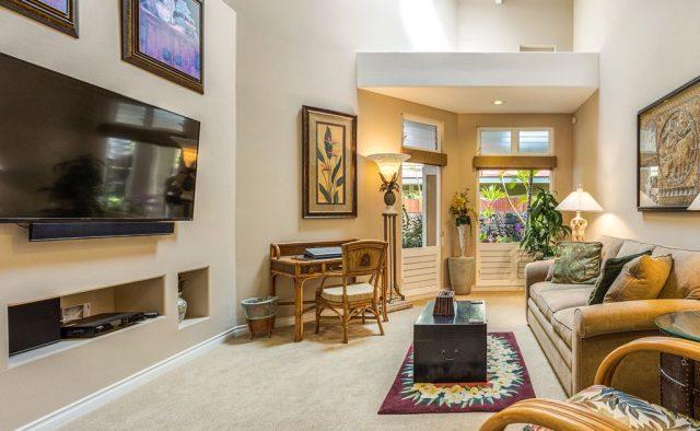 Opal Estates - TV Room - Hawaii Vacation Home
